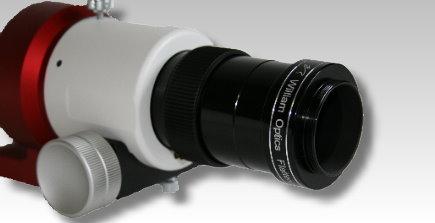 レデューサーフラットナー6用シュミカセネジアダプター取り付け例