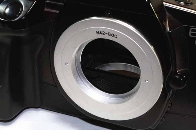 薄型EOSカメラADリング