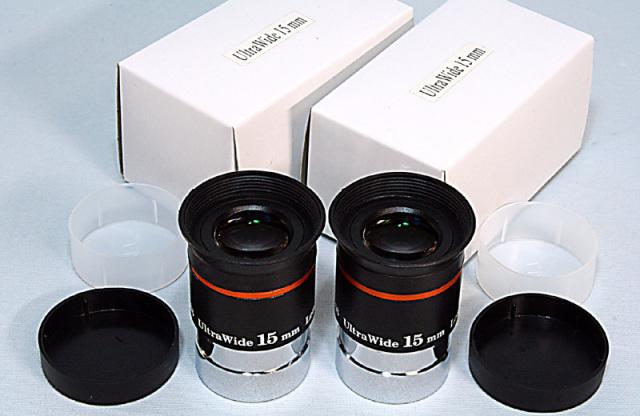 ウルトラワイド15mm双眼セット